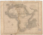 Africa / engraved by the Omnigraph, F.P. Becker & Co. Patentees