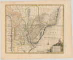 A new and accurate map of Paraguay, Rio de la Plata, Tucumania, Guaria, &c. / laid down from...