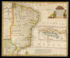 A new & accurate map of Brasil divided into its captainships / drawn from the most approved...