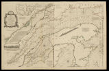 An exact chart of the River St. Laurence, from fort Frontenac to the Island of Anticosti shewing...