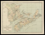 Map of Nova Scotia, New Brunswick, Prince Edward Island and Cape Breton (dominion of Canada) /...