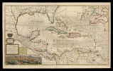 A map of the West-Indies or de Islands of America in North Sea