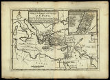 A map of the travels and voyages of St. Paul, and of the other places that are mention'd in the...