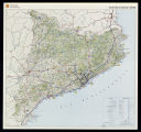 Tourist map of Catalonia 1:350 000. [1st ed.]