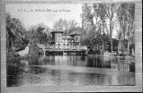 Parc de la Ciutadella: l'estany, any 1907