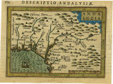 Andaluzia. al marge:  Descriptio Andalusiae, 174