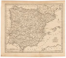 A map of Spain & Portugal / Drawn from the best authorities