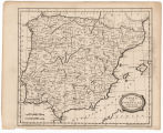 Spain and Portugal from the best authorities / Barlow sc. ; London, publish'd as the Act directs...