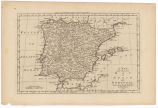 A new and accurate map of Spain and Portugal / drawn from the best authorities by Thos. Bowen ;...