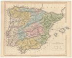 Spain and Portugal / George Virtue ; engraved by the omnigrah F.P. Becker