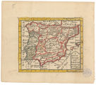 A map of Spain and Portugal / by I. Cowley geo. royal