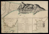 A plan of the Town and fortifications of Gibraltar with the Spanish lines & c. ; A chart of...