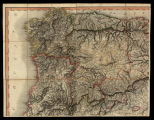 A new Military Map of Spain and Portugal compiled from The Nautical Surveys of Don Vincent Tofiño,...
