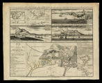 Several prospects of the rock, town, catle, fortifications & bay of Gibraltar... / Nicholls...