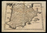 Hispania]: Tabula II Evropae, De Hispania et eivs ad Galliam comparatione text al verso]