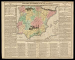 Map of Spain and Portugal: including the places rendered celebrated by battles & sieges...
