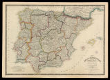 Spain & Portugal: reduced from the large map in four sheets
