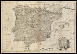 A correct map of Spain & Portugal according to the new observatins and Discoveries comunicated...