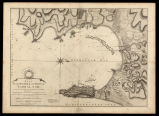 Plan of the bay, rock and town of Gibraltar, from an actual survey by an officer who was at...