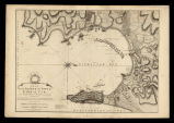 Plan of the bay, rock and town of Gibraltar / from an actual survey by an officier who was at...