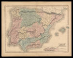 Spain & Portugal / engraved by S. Hall
