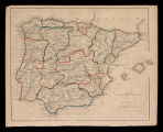 Spain and Portugal / engraved by the omnigraph F. P. Becker & Cº. ; Geo, Virtue