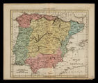 Spain & Portugal / engraved for Walker's Geography