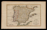 A new and accurate map of Spain and Portugal / Drawn form the best authorities by Tho. Bowen