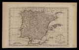 A new and accurate map of Spain and Portugal / drawn from the best authorities by Tho. Bowen
