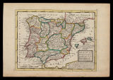 Spain and Portugal : divided into all its kingdoms and principalities