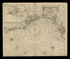 A chart of the sea Coasts of Algrave and Andalusia between cape St. Vincent and the strait of...