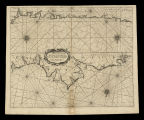 A Chart of the sea coasts Biscay and Gallicia between cape Machicaca and cape de Pinas and from...