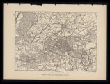 Plan of Paris and surrounding country / Typo-Etching Co. sc.