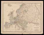 Europe / by Keith Johnston ; engraved & printed by W. & A.K. Johnston, Edimburgh