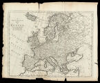 A nex & accurate map of Europe / Drawn from the best authorities ; by Tho. Bowen