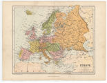Europe / Printed by  M. Farlane & Erskine. Edin.