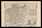 A new & correct map of the empire of Germany ... / Engrav'd for Moore's New and Complete...