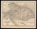 Austro-Hungarian monarchy / by Keith Johnston ; engraved & printed by W. & A.K. Johnston,...