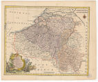 A new and correct map of the Netherlands or Low Countries /  by Eman. Bowen ; for Mr. Tindal's...