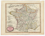 France divided into circles and departments / Barlow sculp.
