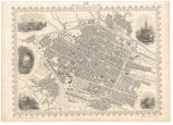 Brussels / the plan drawn & engraved by J. Rapkin