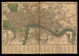 Teggs new plan of London & c. With 360 refrences to the principal streets & c.