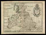 A new map of Brittish Isles shewing their antient people cities and towns of note in the time of...