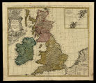 A general map of Great Britain and Ireland with part of Holland, Flanders, France &c. agreable...