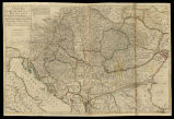 A new map of the kingdom of Hungary and of the countries, provinces &c. bordering the...