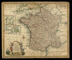 A new and accurate map of France with its aquisitions / composed from the latest surveys assited...