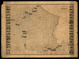 Carte pintoresque et maritime de la France