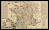 A new and exact map of France dividid into all its provinces and acquisitions... / by H. Moll