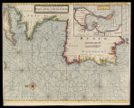 A chart of the sea coast from England to the streights H. Moll f[ecit]