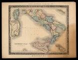 The London series of modern maps: Southern Italy